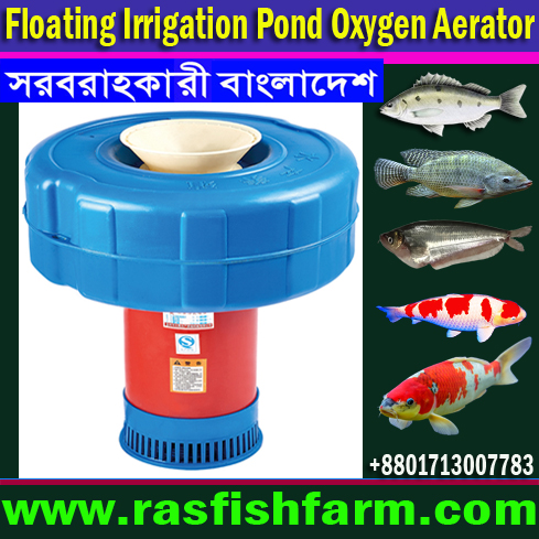 Fish Farming Oxygen Aeration Equipment in Bangladesh, Fish Farming